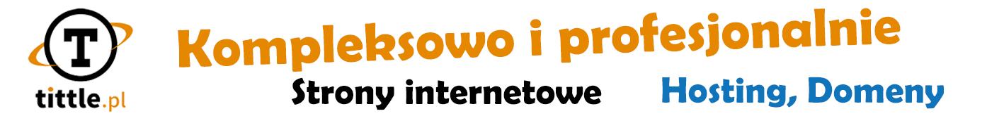 TITTLE.pl Strony internetowe, domeny, hosting